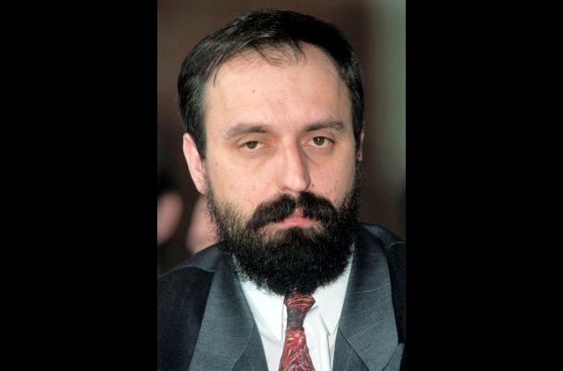 Fotografía de Goran Hadzic tomada en 1991.