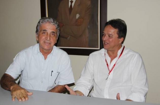 Los médicos Henry Vergara Sagbini y Álvaro Cárcamo son los realizadores de este