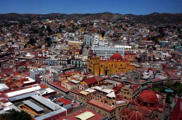 Guanajuato, la ciudad de México a donde llegará el papa Benedicto XVI.