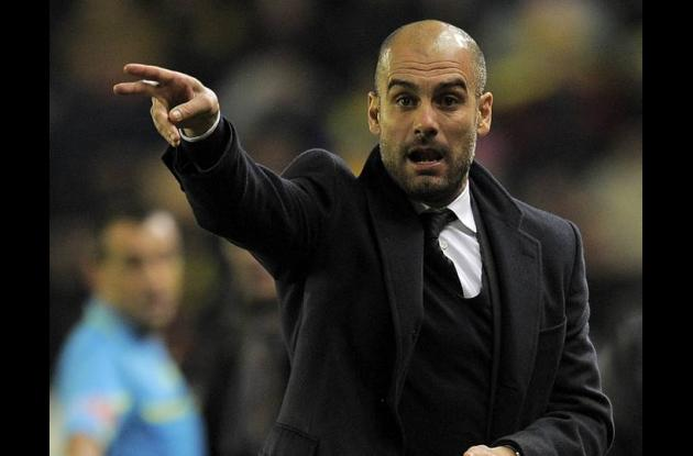 Pep Guardiola, director técnico del Barcelona.
