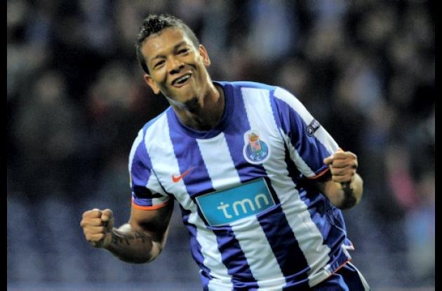 Fredy Guarín, jugador colombiano que brilla em el Porto de Portugal.