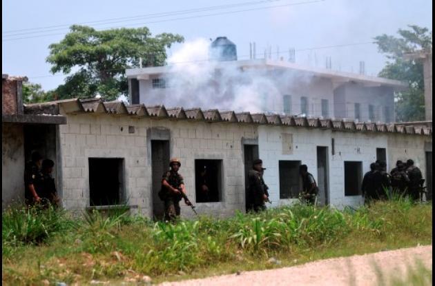 La decapitación de 27 campesinos en Guatemala, obra de Los Zetas.