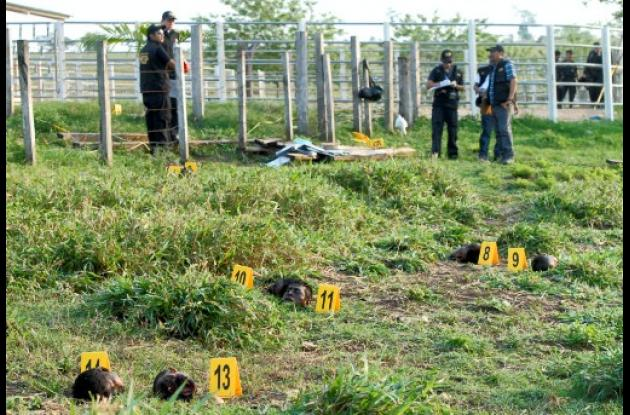 Decapitadas 28 personas en Guatenala.