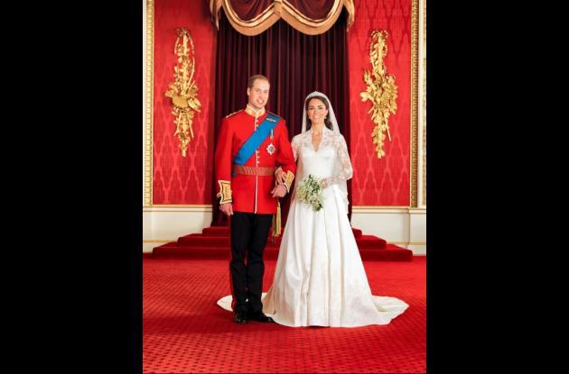 El Príncipe Guillermo y su esposa Catalina