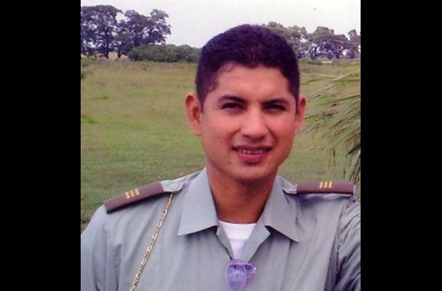 El mayor de la Policía Guillermo Javier Solórzano