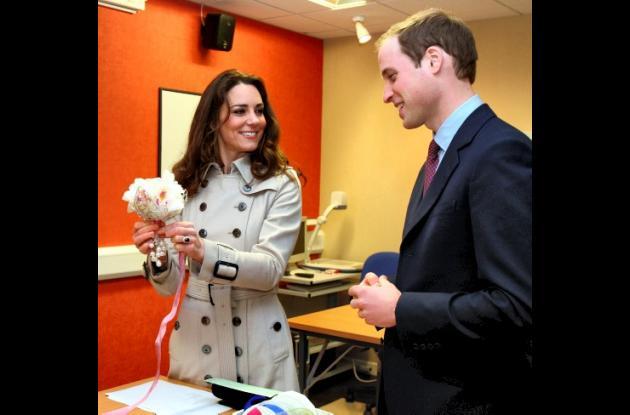 El príncipe Guillermo y Kate Middleton en Irlanda del Norte.