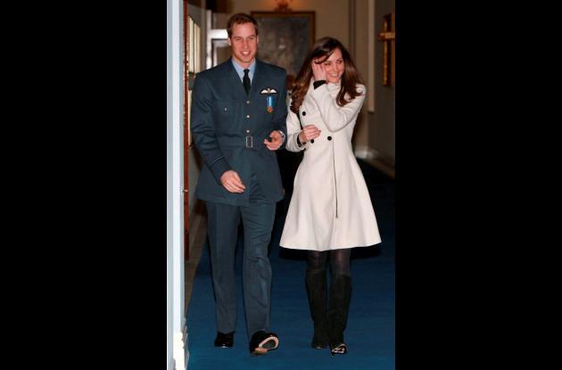 La boda del príncipe Guillermo y Kate Middleton será el 29 de abril en la abadía