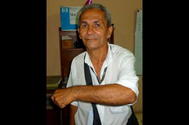 Gustavo Comas, periodista agredido.