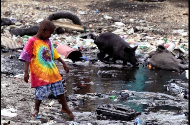 Haití: cólera ha matado a unas cinco personas.