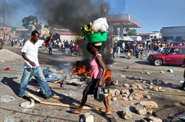 Reaparece nuevo brote de cólera en Haiti.