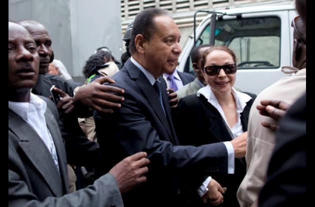Ex dictador de Haití, Jean-Claude 'Baby Doc' Duvalier.