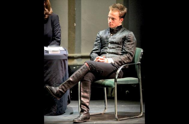 En el juicio a Hamlet se usaron actores como Graham Hamilton.
