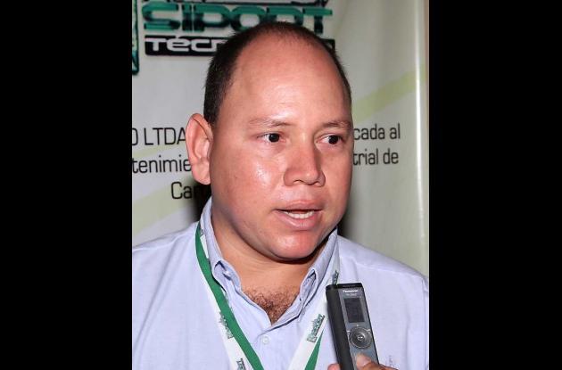 Harold Alzate Rodriguez, representante de Siport Técnico Ltda