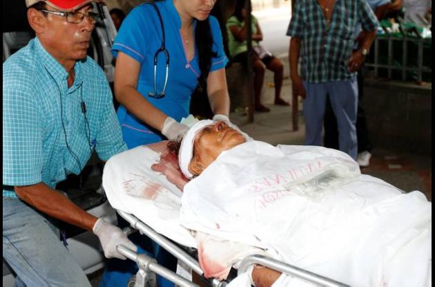 Heridos en accidente de tránsito de la Troncal de Occidente.