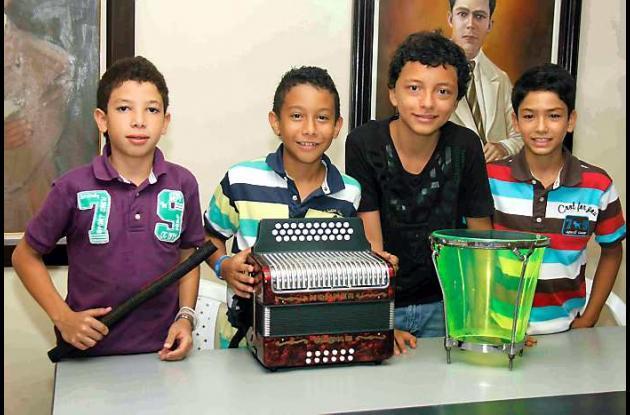 Conjunto vallenato de Los Hermanos López y Vega