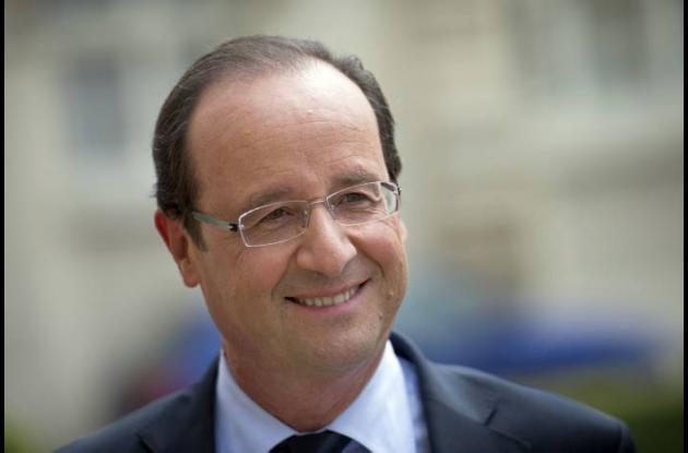 Presidente de Francia François Hollande