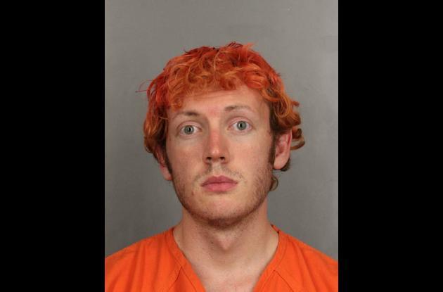 James Holmes, joven acusado de matar a una docena de personas.