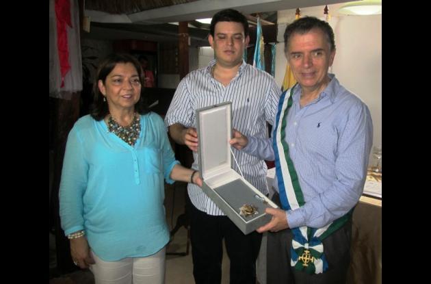 Homenaje en Sahagún a Germán Bula Escobar.