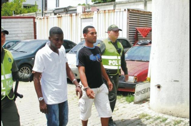 Los dos presuntos homicidas fueron capturados luego de una persecución en el sec