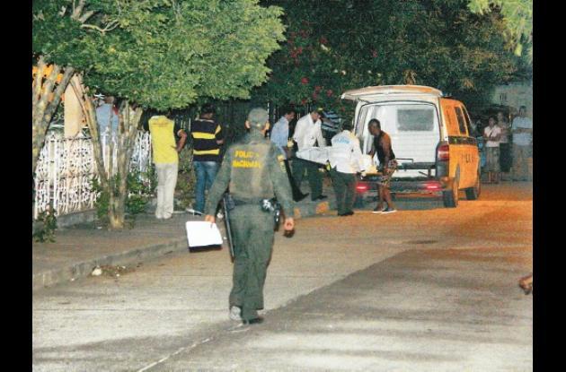 El doble crimen ocurrió el miércoles, a las 8:30 de la noche, en la calle Cristó