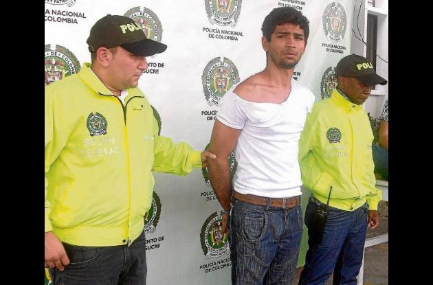 Rafael Enrique Galúa Zabaleta, capturado por homicidio