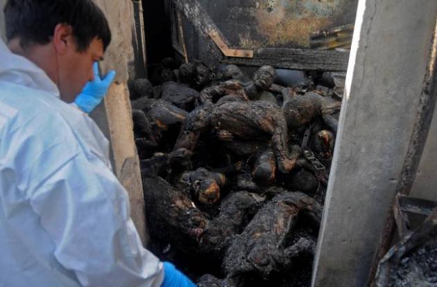 Incendio en cárcel de Honduras