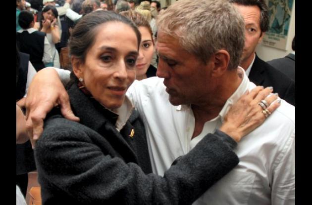 Honras fúnebres de Sonia Osorio.