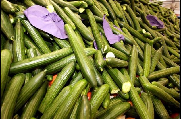 Verduras y hortalizas sometidas a revisión en Estados Unidos.