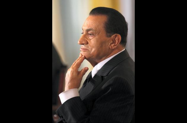 Hosni Mubarak, ex presidente de Egipto.