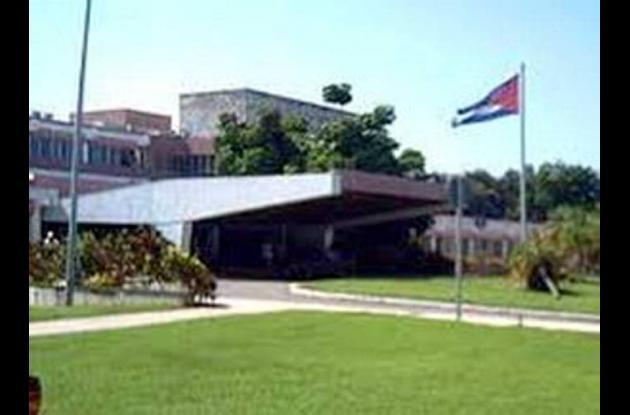 Ubicación del hospital Cimeq de La Habana,