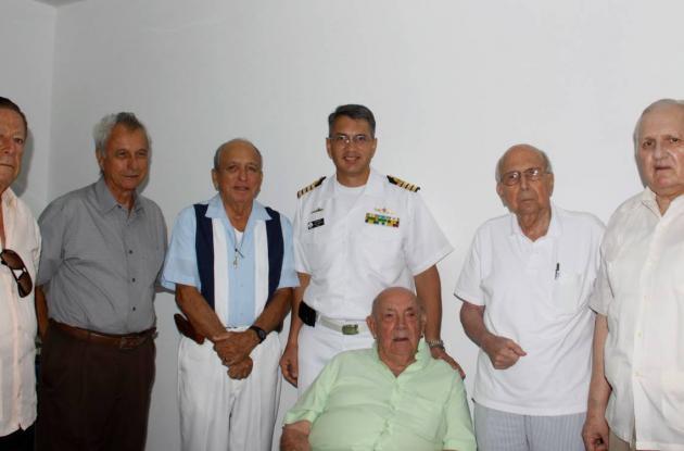 Inauguración de sala de fisioterapia del Hospital Naval