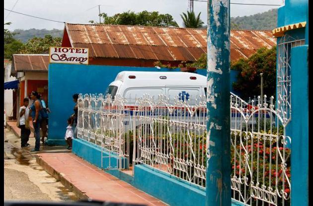 El macabro hecho ocurrió en el Hotel Saray, en el barrio San Isidro, en San Juan
