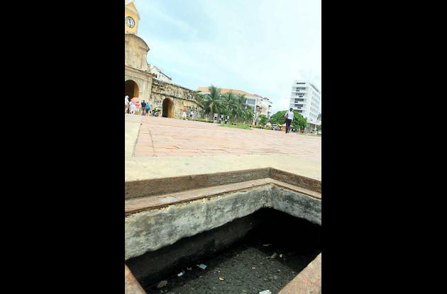 Hueco en la Plaza de la Paz: mala imagen para el Centro Histórico