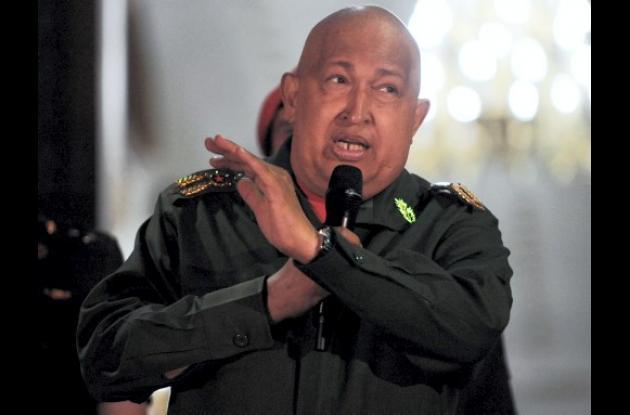 Hugo Chávez Frías, actual presidente de Venezuela.