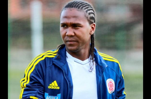 Hugo Rodallega, delantero de la Selección Colombia.