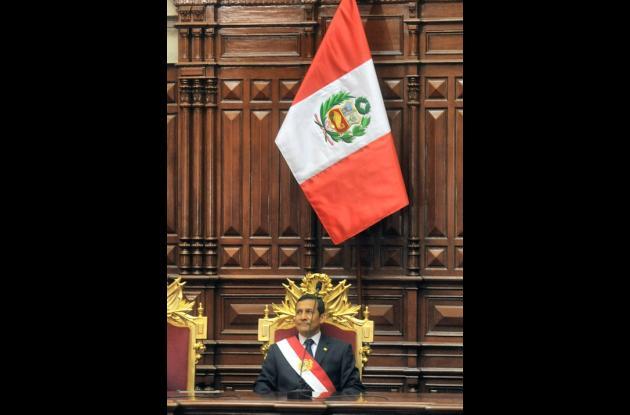 Ollanta HUmala: un izquierdista en la Presidencia de Perú.