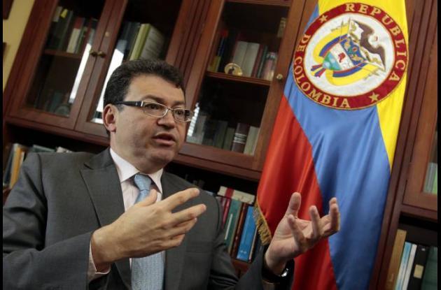 El magistrado de la Corte Constitucional Humberto Sierra Porto.