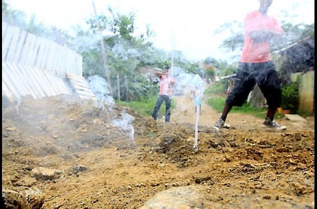 Alerta por aparición de humo en barrio Henequén de Cartagena.