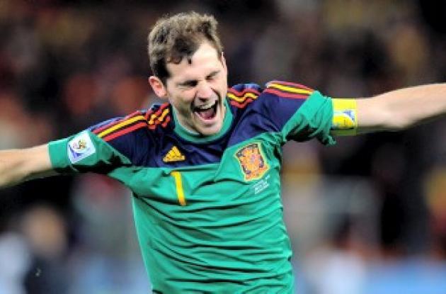 Iker Casillas, portero titular de España en el Mundial de Sudáfrica.