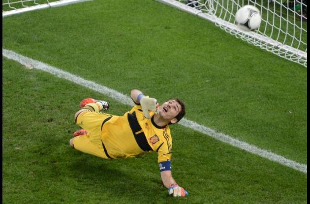 Iker Casillas, figura de España.