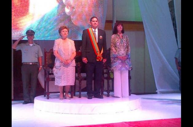 Posesión de Juan Carlos Gossaín como gobernador de Bolívar
