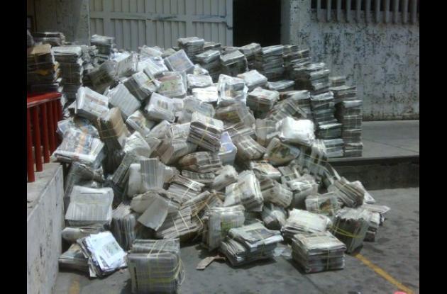 Reciclaje de periódicos