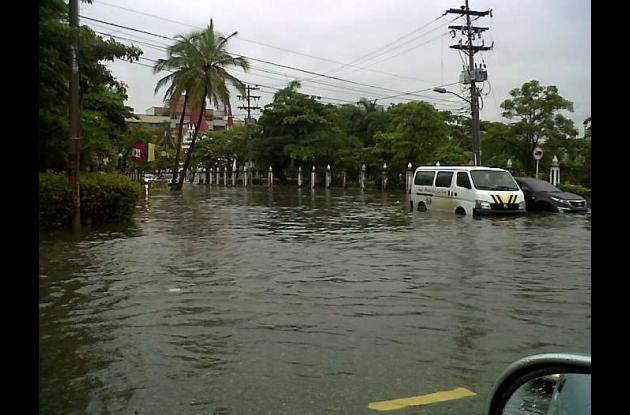 Inundaciones en El Cabrero.
