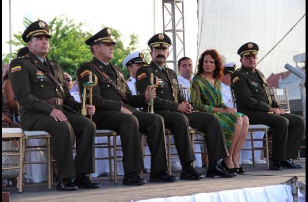 Relevo Policía Metropolitana de Cartagena