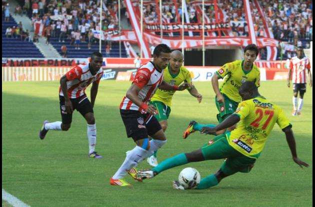 Junior venció a Real Cartagena