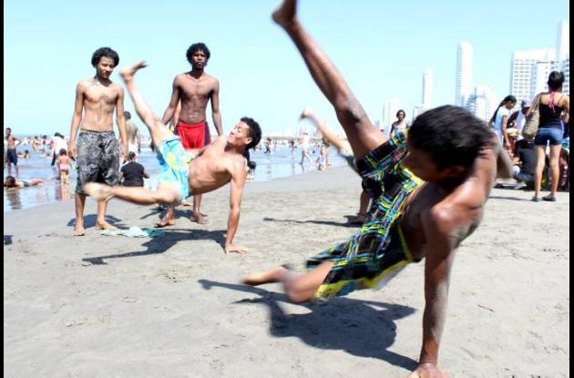 Playas y año nuevo en Cartagena