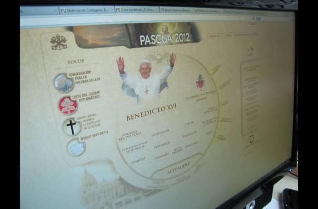 Página web del Vaticano.