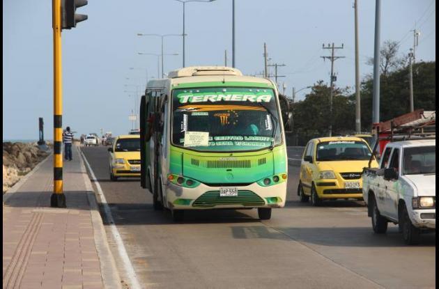 Pico y placa para busetas en Cartagena