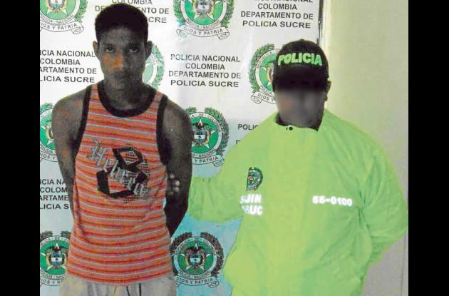 """Jaroll Ríos Aguilar,  alias """"Jairito"""", capturado por homicidio"""