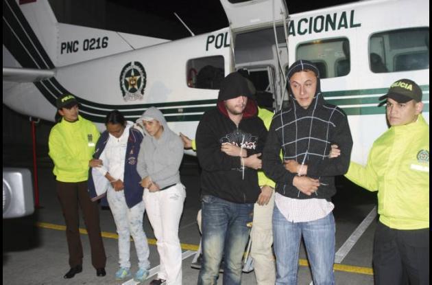Capturados por robar avioneta